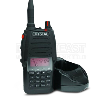 CRYSTAL DBH50R CRYSTAL MOBILE - 5W HANDHELD UHF CB RADIO - SINGLE UNIT - RECHARGEABLE - DBH50R