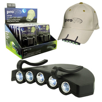 PROLYTE PCL12 5 LED CAP LIGHT - 12 PACK