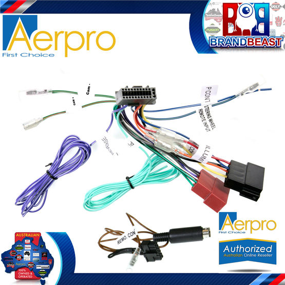 APP9KE6_FS1 kenwood iso connection type c patch lead conection harnesses to aerpro wiring harness diagram at n-0.co